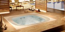 Built-in Jacuzzi® spa ENJOY in wellness center